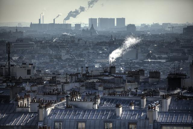 Paris Chimneys - Picture Credit: Flickr/Nicholas Jones