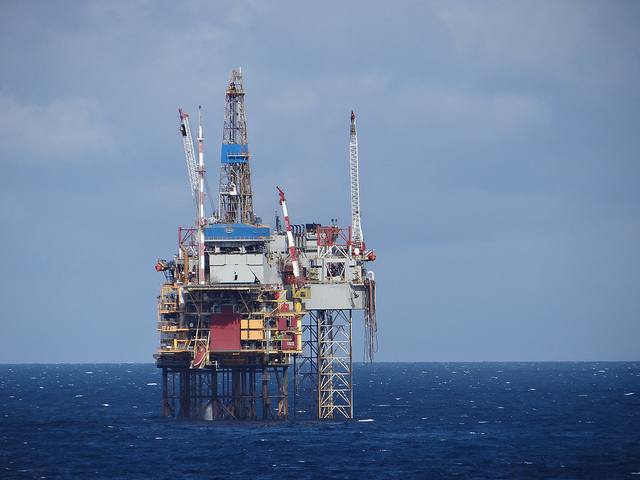 Oil Rig in the North Sea - Picture Credit- Flickr/Gary Bembridge