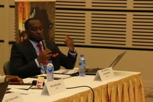Theo Acheampong speaking at Africa Oil Summit 2015
