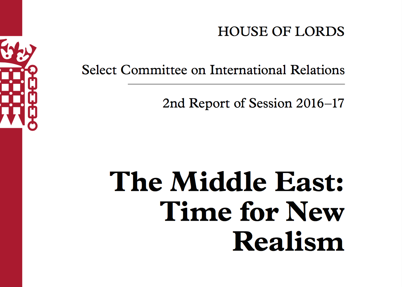 The Middle East_Time for New Realism